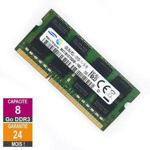 MÉMOIRE RAM Barrette Mémoire 8Go RAM DDR3 Samsung M471B1G73QH0