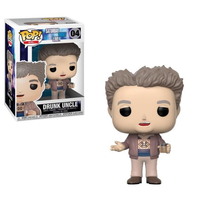 Figurine Funko Pop! SNL : Drunk Uncle (Oncle saoul)