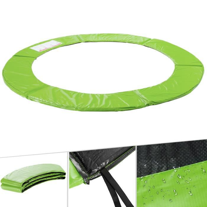 AREBOS Coussin de Protection des Ressorts Pour Trampoline 305 cm vert clair