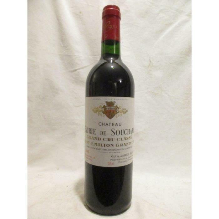 saint-émilion château faurie de souchard grand cru classé rouge 1999 - bordeaux