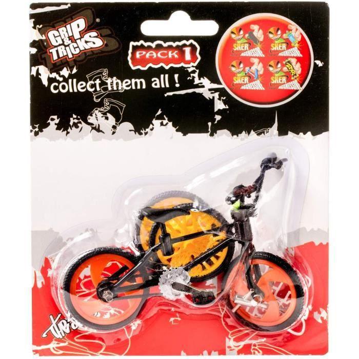 Le pack Finger BMX / Mini vélo à customiser pour réaliser des tricks comme les pro !