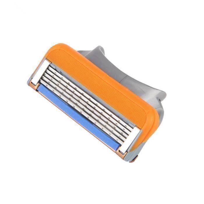 Man Rasage rasoir Recharges Cartouche lame 5 couche pour Gillette Fusion