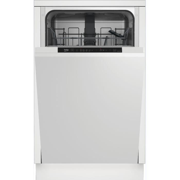 Lave vaisselle tout integrable 45 cm LVI42F 10 couverts Cuve inox