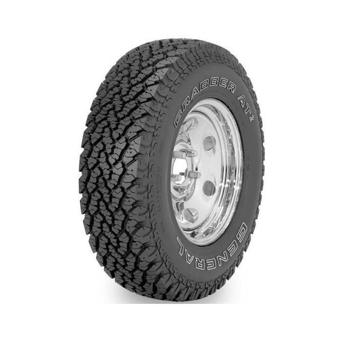 General Tire Grabber AT2 265-75R16 123Q FR BSW