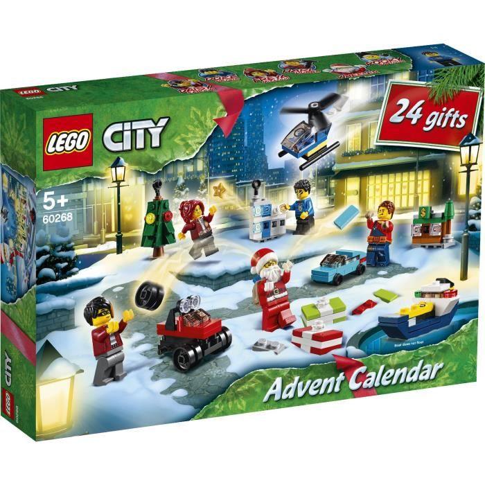 LEGO® City 60268 Le calendrier de l'Avent