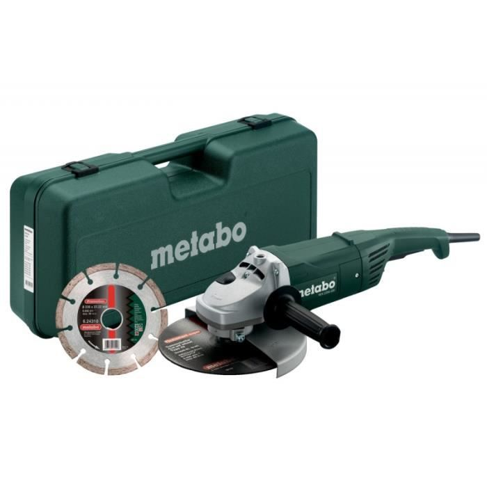 METABO Meuleuse 230 mm W 2200-230 - 2 200 W