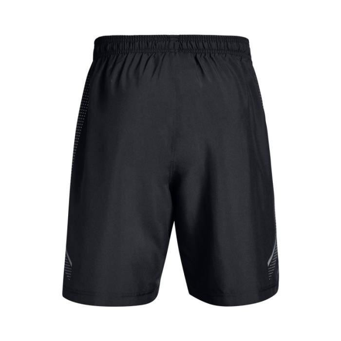 Short Under Armour Woven Graphic Noir pour homme