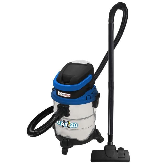 Nettoyeur aspirateur souffleur cendre, eau, poussières sans fil polyvalent 4 en 1 RBAT20