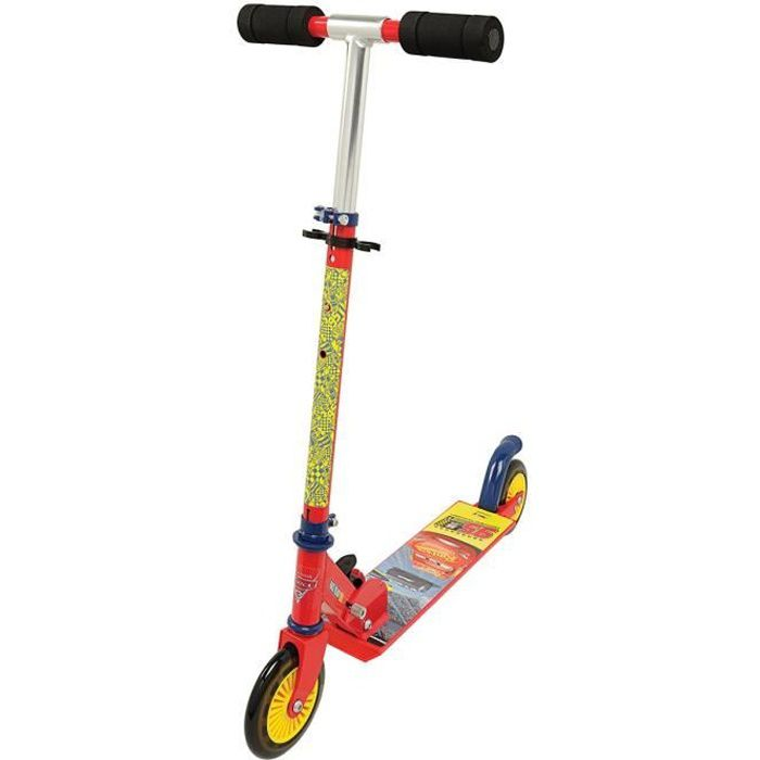 CARS 3 Smoby Trottinette Pliable 2 Roues