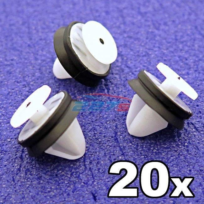 20x Renault panneau porte intérieure moulage clips garniture carte 7703077469 fasteners