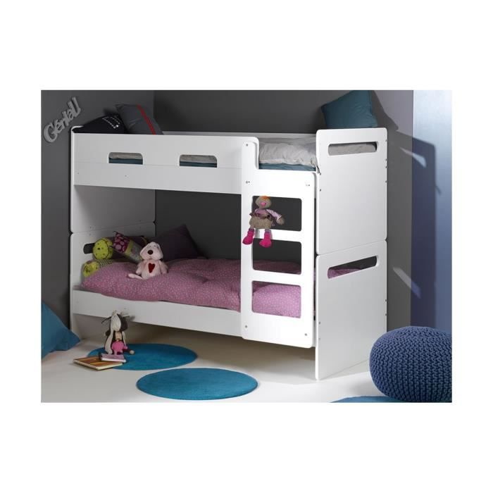 lit superpos enfant feroe 90x200 achat vente lits superpos s lit superpos enfant feroe. Black Bedroom Furniture Sets. Home Design Ideas