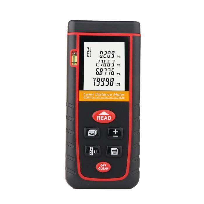 UNI-T Laser Distance Meter Mini Télémètre Diastimeter 40 m Télémètre Données HO