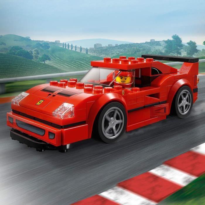 Lego 75890 Speed Champions Ferrari F40 Competizione Pilote de Course Figurine
