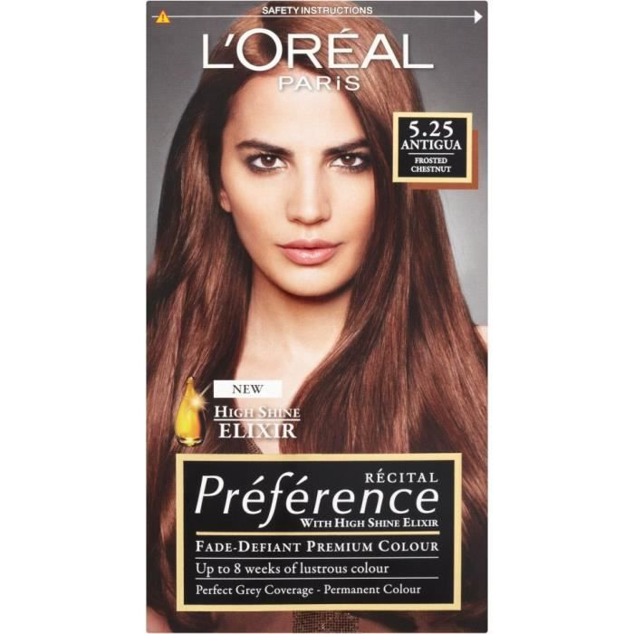 Coloration cheveux brun l'oreal