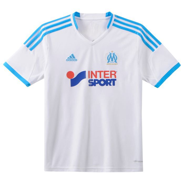 maillot de foot marseille adidas achat vente maillot polo adidas om domicile 13 14 jr. Black Bedroom Furniture Sets. Home Design Ideas