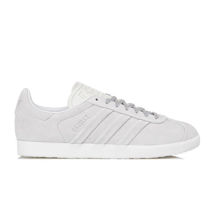 BASKET CHAUSSURES ADIDAS GAZELLE STITCH AND TURN W GRISE