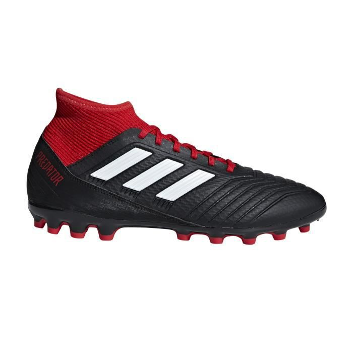 top brands first look sports shoes Chaussures football adidas Predator 18.3 AG Noir-Rouge ...
