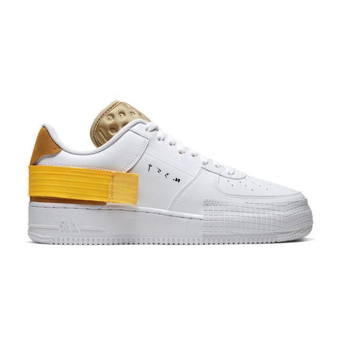 chaussure nike air force 1 jaune