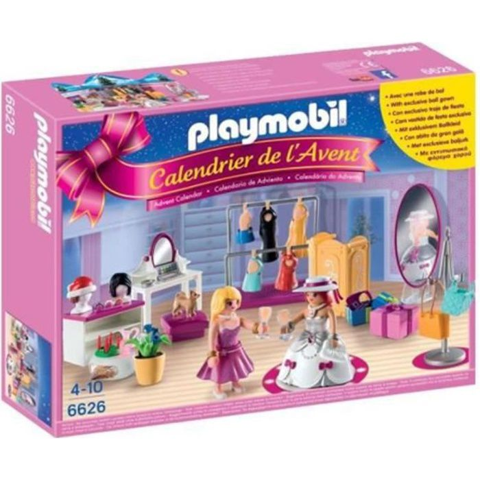 playmobil 6626 calendrier de l 39 avent loge d 39 artiste achat vente calendrier de l 39 avent. Black Bedroom Furniture Sets. Home Design Ideas