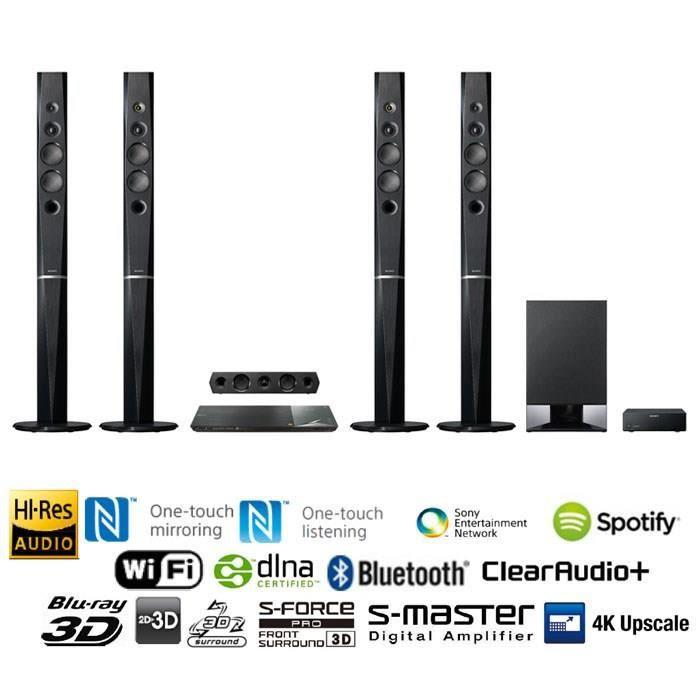 Ensemble home cinéma SONY BDV-N9200W Home-cinéma Blu-ray 5.1 WiFi 1200W