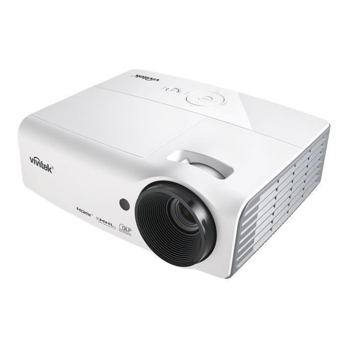 Vidéoprojecteur Vivitek D555WH Projecteur DLP portable 3D 3000 ANS