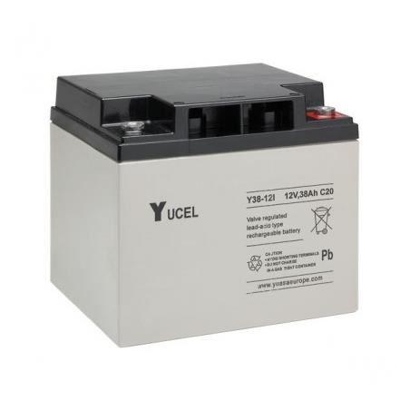 Batterie plomb Yucel 12V 7Ah Y7-12FROriginal fabricant