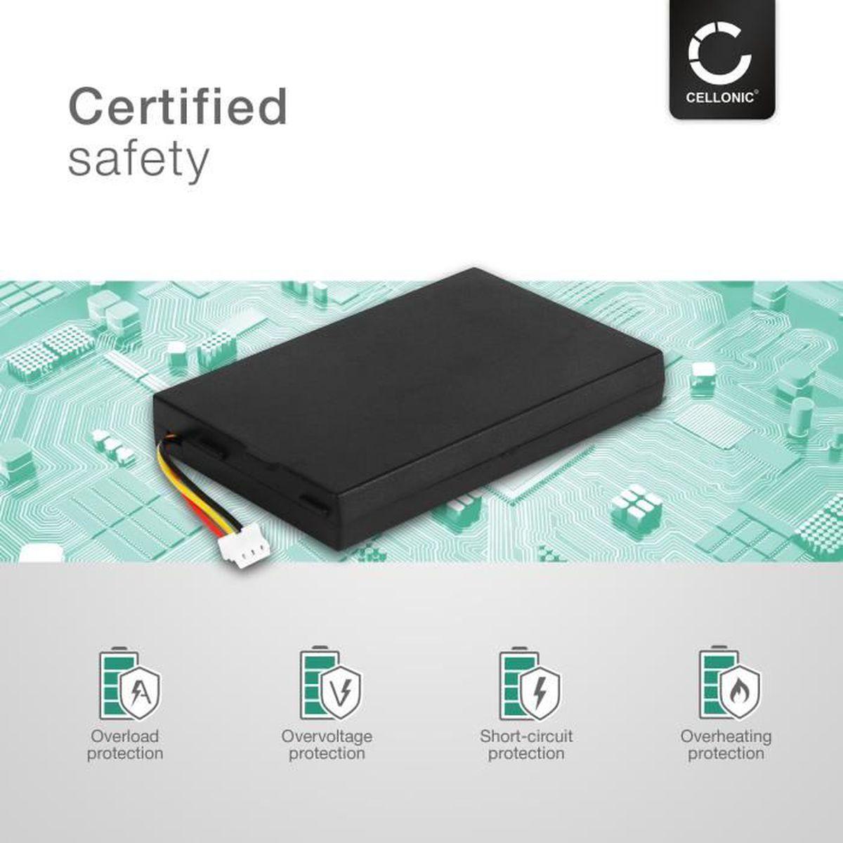 Batterie  Li-polymère 1200mAh type 533-000132 Pour Logitech G533