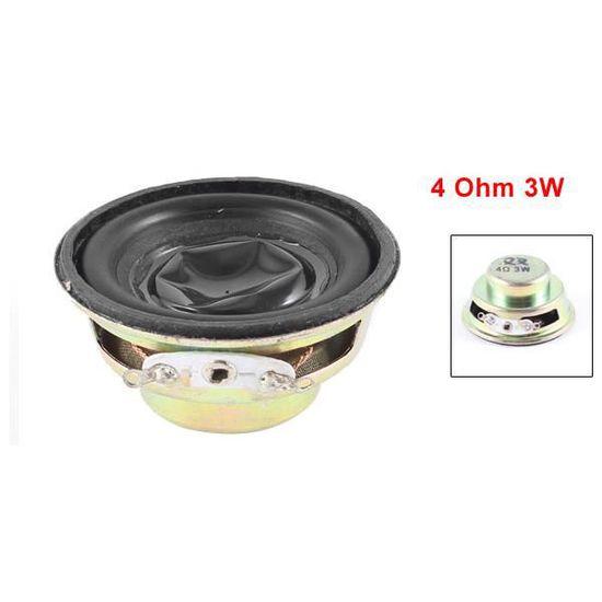 Sourcingmap Lot de 2 3 4 ohms-Aimant de 40 mm pour Haut-Parleur Externe /électronique pour Trompette