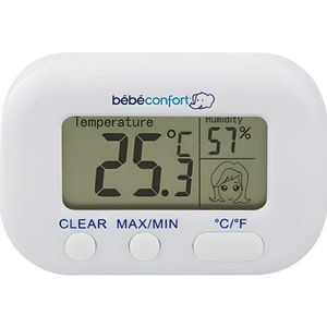 THERMOMÈTRE BÉBÉ BEBE CONFORT Thermomètre Hygromètre