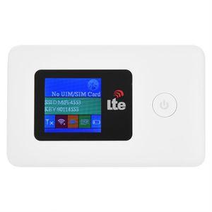 MODEM - ROUTEUR Type de carte SIM Routeur WiFi Modem 4G 2.4GHz 150