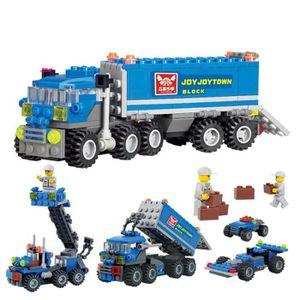 ASSEMBLAGE CONSTRUCTION 163pcs / lot ville camions Modèle Building Blocks