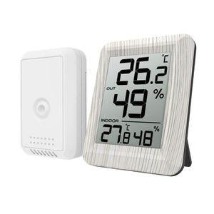 THERMO - HYGROMÈTRE Thermomètre Hygromètre Numérique,Thermo-hygromètre