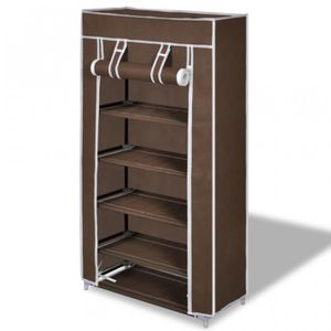 armoire a chaussure en tissus achat vente armoire a. Black Bedroom Furniture Sets. Home Design Ideas