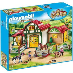 UNIVERS MINIATURE PLAYMOBIL 6926 - Country - Club d'équitation