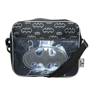 SACOCHE Sac de courrier Batman Bat-Signal pour enfants