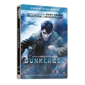 BLU-RAY FILM dunkerque blu ray steelbook 4k ultra hd + blu ray