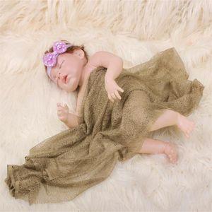 COUVERTURE - PLAID BÉBÉ 1PC bébé rayonne tricoté stretch couverture photog