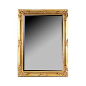 Simple miroir miroir mural en resine dore x cm with grand for Grand miroir mural leroy merlin