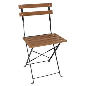 3x Chaise Pliante Stone Mobilier De Camping Balcon Meuble Salon de Set en Aluminium table pliante