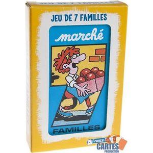 CARTES DE JEU Jeu de 42 cartes : 7 Familles