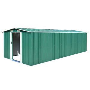 ABRI JARDIN - CHALET Lixada Abri de Jardin en Metal Cabane de Jardin |