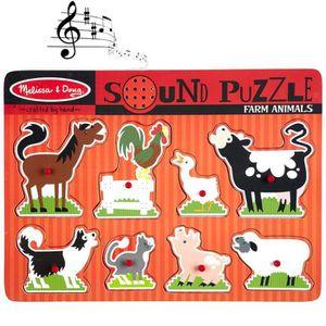 PUZZLE Puzzle sonore des animaux de la ferme