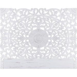 TÊTE DE LIT Tête de lit Flora 180cm Bois Blanc