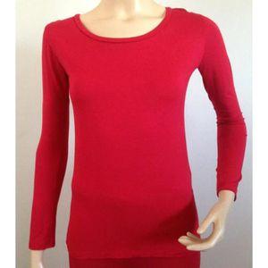 T-shirt femme manche longue - Achat / Vente