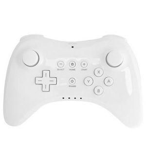 MANETTE JEUX VIDÉO Manette Pro blanche pour console Nintendo Wii U