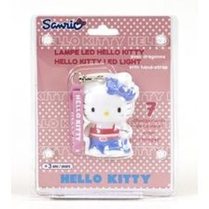 FIGURINE - PERSONNAGE Lampe Decoration Hello Kitty Hip-Hop 8 cm