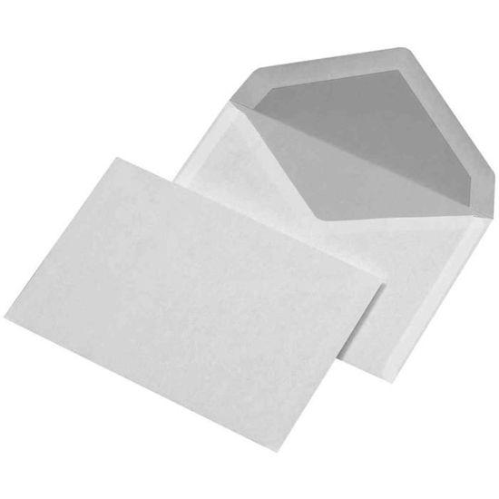Pigna Edera Blanc enveloppe Blanc, 90 g//m/², 110 mm, 23 cm Enveloppes