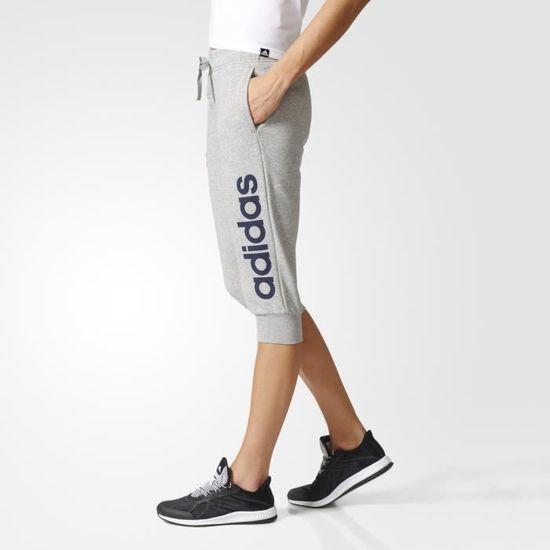 pantalon adidas 3/4 femme