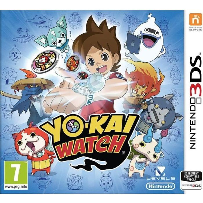 Yo-Kai Watch Jeu 3DS