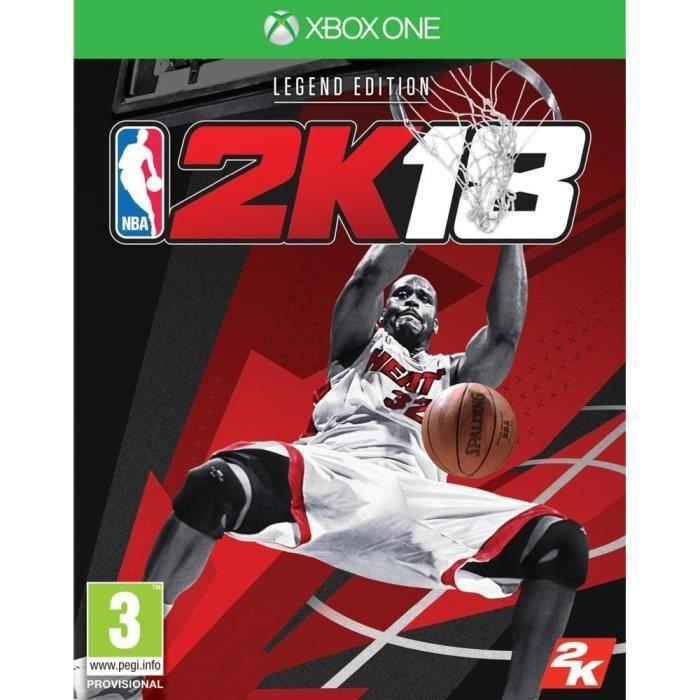 JEU XBOX ONE NBA 2K18 Legend Edition Jeu Xbox One